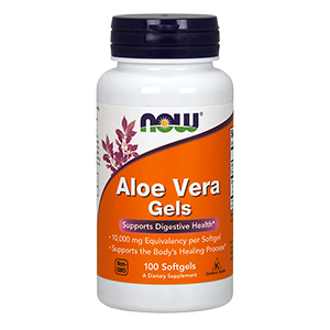 Aloe Vera Gel 10.000mg - Now Foods