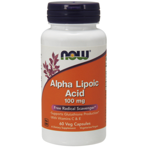 Alpha Lipoic Acid (Acido Alfa Lipóico) 100 Mg - Now Foods