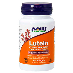 Lutein 10mg - Now Foods