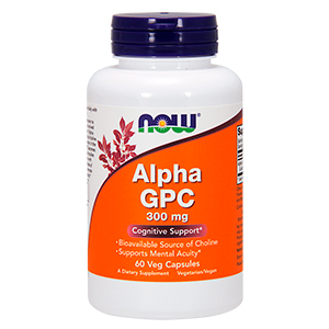 Alpha Gpc - Now Foods