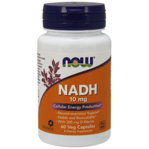 Nadh 10 Mg + D-Ribose 200 Mg - Now Foods