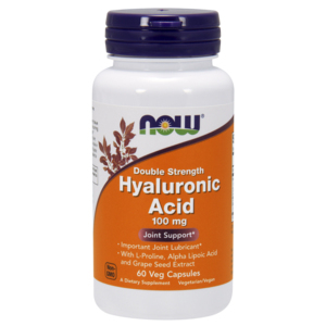 Hyaluronic Acid (Ácido Hialurónico) Double Strength  100mg - Now Foods
