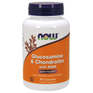 Glucosamine & Chondroitin W/ Msm - Now Foods
