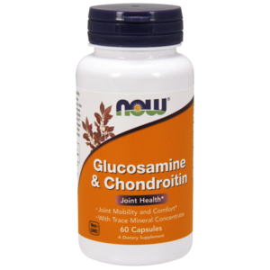Glucosamine & Chondroitin 1500mg/1200mg - Now Foods