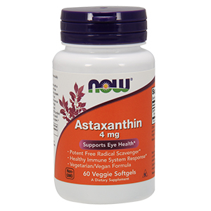 Astaxanthin 4mg - Now Foods