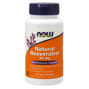 Natural Resveratrol - Now Foods