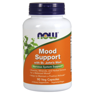 Mood Support With St. Johns Wort (Hipericão) 450mg - Now Foods