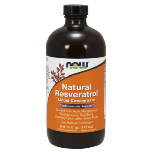 Natural Resveratrol  Liquid - Now Foods