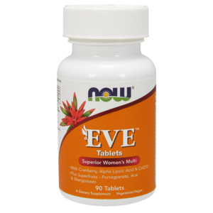 Multivitaminas E Minerais - Eve Woman - Now Foods