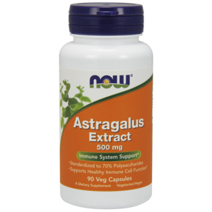 Astragalus Extract 500mg (70% Extract) - Now Foods