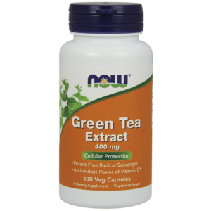 Green Tea Extract - Extracto de chá verde 400mg - Now Foods
