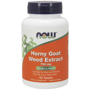 Horny Goat Weed Extract 750 Mg - Now Foods