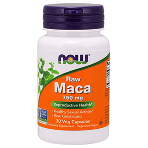 Maca Raw 750mg - Now Foods