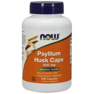 Psyllium Husk 500mg - Now Foods