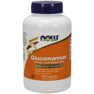 Glucomannan 575mg - Now Foods