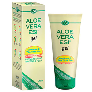 Aloe Vera Gel Com Tea Tree Oil E Vitamina E - ESI