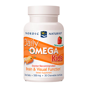 Daily Omega 3 Kids (Mastigáveis) - Nordic Naturals