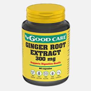 Ginger Root Extract 300 Mg - Good Care