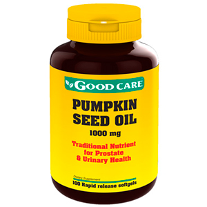 Óleo De Semente De Abóbora 1000mg (Pumpkin Seed Oil) - Good Care