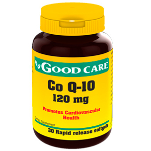 Co Q-10 120mg - Good Care