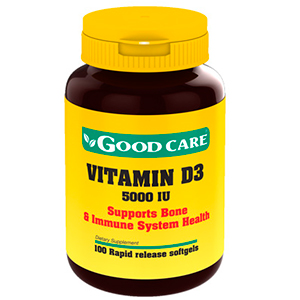 Vitamina D3 5000 Iu - Good Care