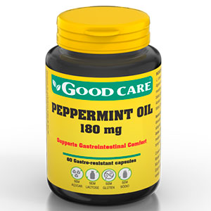 Peppermint Oil 180mg - Good Care
