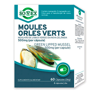 Moules Orles Verts 500mg - Sovex