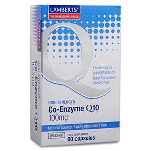 Co-Enzyme Q-10 100mg - Lamberts