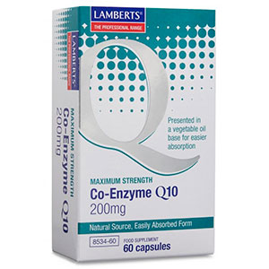 Co-Enzyme Q-10 200mg - Lamberts